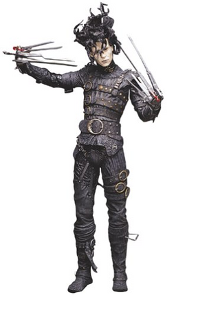 McFarlane Toys Edward Scissorhands Trading Collection Figure - Lavits Figure  - 1