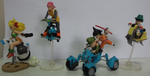 Bandai Dragon Ball Z DBZ Mecha Collection Part 1 4 Trading Figure Set Used - Lavits Figure  - 2