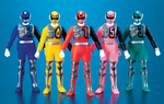 "Bandai Power Rangers Dekaranger SPD Space Patrol Delta 5 3"" Mini Trading Figure Set - Lavits Figure"