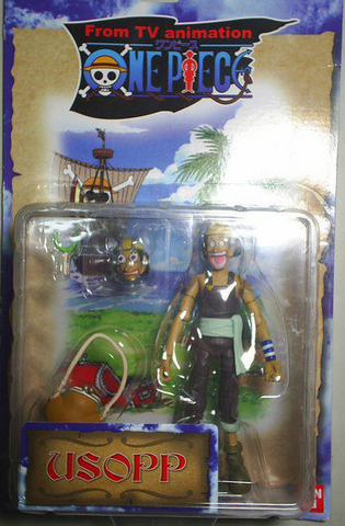 Bandai One Piece From TV Animation Usopp Action Figure - Lavits Figure