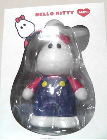 "Medicom Toy 2010 Amos Toys MC Cable Design James Jarvis Hello Kitty Ver 6.5"" Vinyl Figure - Lavits Figure"
