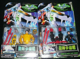 Trendmasters Voltron Galaxy Guard Stealth Mighty Lion Force 7 Action Figure Set - Lavits Figure  - 3