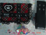 Takara Shugo Chara My Guardian Characters Amulet Accessories Pouch Bag Cosplay Set - Lavits Figure  - 3