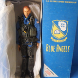 "Hot Toys 1/6 12"" Blue Angels U.S. Air Force Combat Aircrew Pilot Limited Ver Action Figure - Lavits Figure  - 1"
