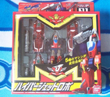 Bandai MRR Machine Robo Rescue Robot 01 Hyper Red Wings Action Figure - Lavits Figure  - 1