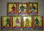 Bandai Power Rangers Mystic Force Magiranger 7 Soft Trading Collection Figure Set - Lavits Figure