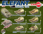 Doyusha 1/144 Can Do Micro Armor Pocket Army Series 8 Elefant Tank 6 Figure Set - Lavits Figure