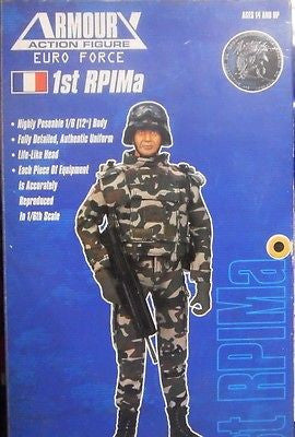 "Armoury 1/6 12"" Euro Force 1st Rpima Action Figure - Lavits Figure  - 1"