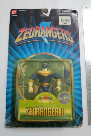 Bandai 1996 Power Rangers Zeo Ohranger .Action Collection Trading Figure - Lavits Figure  - 1