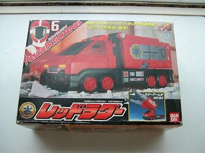 Bandai Power Rangers Gogo Five V Lightspeed Rescue Action Fire Truck RA-6 Figure - Lavits Figure  - 1
