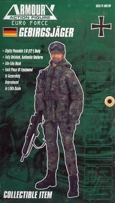 "Armoury 1/6 12"" Euro Force German Gebirgsjager Action Figure - Lavits Figure"