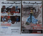 Yamato SIF Story Image Figure Samurai X Rurouni Kenshin Best Selection 6 Trading Collection Figure Set - Lavits Figure  - 1
