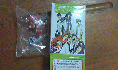 Movic Clamp in 3-D 3D Land Part 2 Hikaru & Mizaki Mini Trading Figure - Lavits Figure