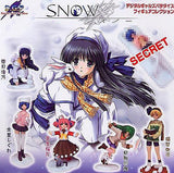 Millennium DGP Digital Gals Paradise Gashapon Snow 5+1 Secret 6 Mini Trading Figure Set - Lavits Figure  - 2