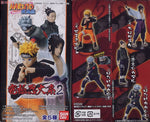 Bandai Naruto Shippuden Kyukyoku Shinobi Taikei Part 2 5 Trading Collection Figure Set - Lavits Figure