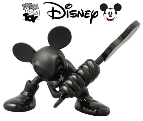 Medicom Toy VCD Vinyl Collectible Dolls Disney Roen Mickey Mouse Guitar Tone On Tone Ver Figure