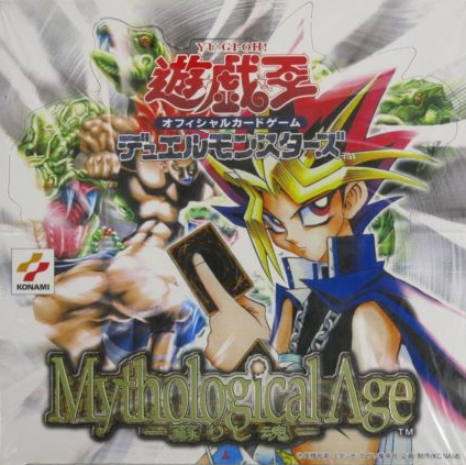 Konami Yu Gi Oh Booster Box Mythological Age Trading Card Game Sealed Box Set - Lavits Figure