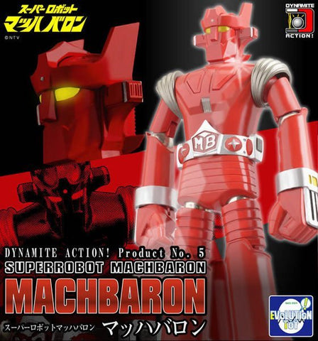 Evolution Toy Dynamite Action No 5 Super Robot Mach Baron Figure