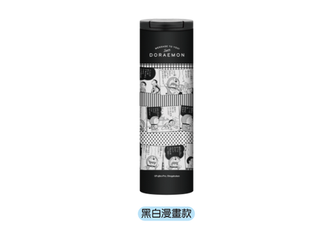 Doraemon Supporting From Behind 50th Anni. Taiwan 7-11 Limited 304 Stainless Steel 500ml Thermos Can Type A