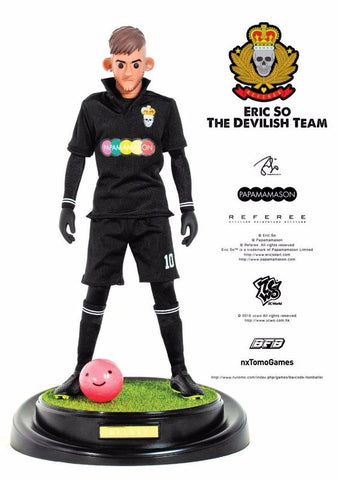 "ZCWO 12"" 1/6 Eric So BFB The Devilish Team Neymar Jr Action Figure"