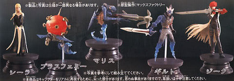 Epoch C-works Chaos Legion Gashapon Part 1 5 Color 5 Crystal 10 Trading Collection Figure Set - Lavits Figure  - 1