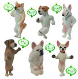Yujin Toshio Asakuma Gashapon Daily Life Of Dog 6+1 Secret 7 Strap Trading Figure Set - Lavits Figure  - 1