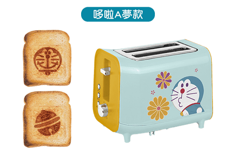 Doraemon Magic Props Taiwan 7-11 Limited Toaster Machine Doraemon ver
