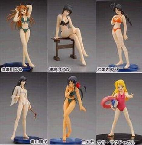 Yamato SIF Story Image Figure Love Hina Series 1 6+6 12 Trading Collection Figure Set - Lavits Figure