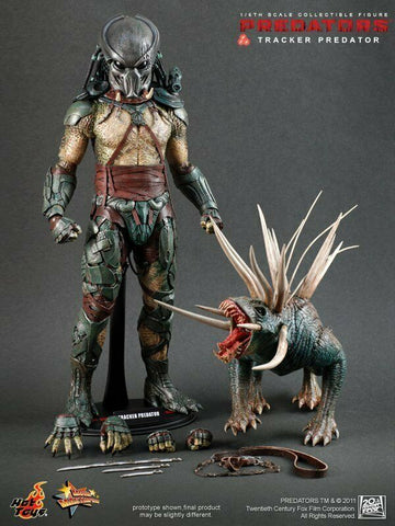 "Hot Toys 1/6 12"" Predators Tracker Predator Action Figure"