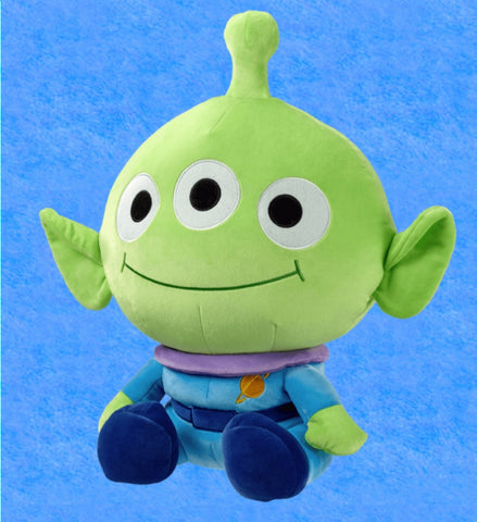 "Pixar Toy Story Family Mart Limited 16"" Transform Plush Doll Pillow Alien Ver Figure"
