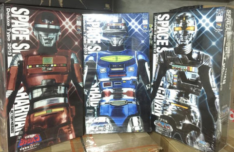 "Medicom Toy 1/6 12"" Real Action Heroes Metal Hero Series Space Sheriff Gavan Sharivan Shaider 3 Figure Used"