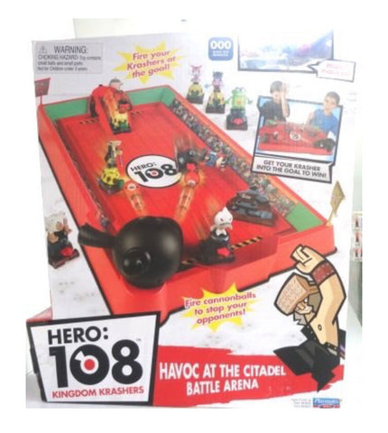 Hero 108 Kingdom Krashers Havoc at The Citadel Battle Arena Trading Figure