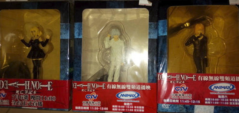 Deathnote Taiwan Limited 6 Trading Figure Set
