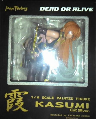 Max Factory 1/6 Dead Or Alive DOA Kasumi Ayane C2 Black Ver Pvc Figure