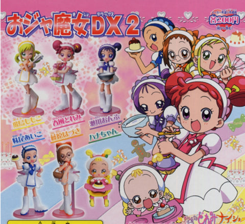 Bandai Magical Ojamajo Do Re Mi Gashapon DX Part 2 6 Collection Figure Set