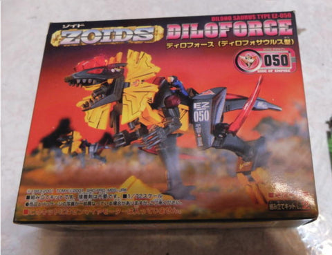 Tomy Zoids 1/72 EZ-050 Diloforce Diloho Saurus Type Action Model Kit Figure