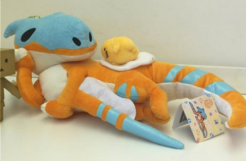 Capcom Monster Hunter Tigrex x Sanrio Gudetama Plush Doll Figure
