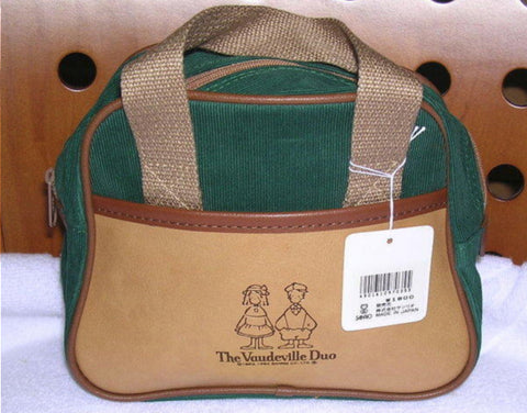 "Sanrio 1994 The Vaudeville Duo Eddy & Emmy 7"" Hand Bag"