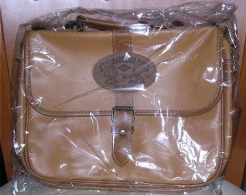 "Sanrio The Vaudeville Duo Eddy & Emmy 8"" Brown Crossbody Bag"