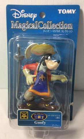 Tomy Disney Magical Collection 112 The Three Musketeers Goofy Trading Figure