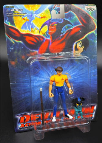 Banpresto 1998 Devilman Go Nagai Mini Action Figure Type A