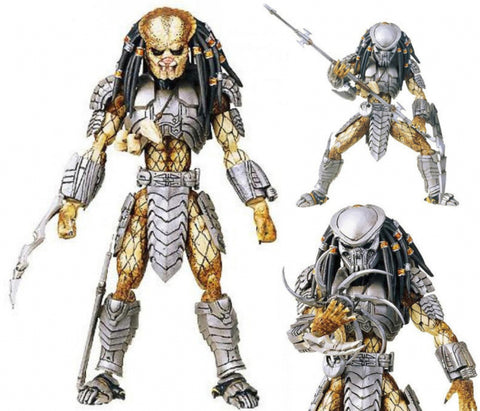 Takara Microman Action Series MA-17 AVP Alien vs Predator Celtic Predator Sander Figure Used