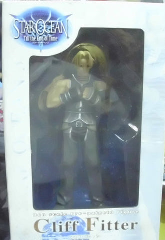 Kotobukiya 2003 Star Ocean Till the End of Time Cliff Fitter Pvc Figure