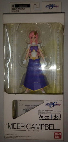 Bandai Voice I Doll Gundam Seed Destiny Meer Campbell Trading Figure