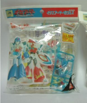 Bandai 1996 Capcom Mega Man Rockman X X&Z Crystal Plastic Part Model Kit Figure