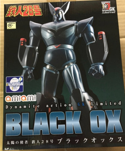 Evolution Toy Dynamite Action No GK Limited Tetsujin 28 Black OX Figure