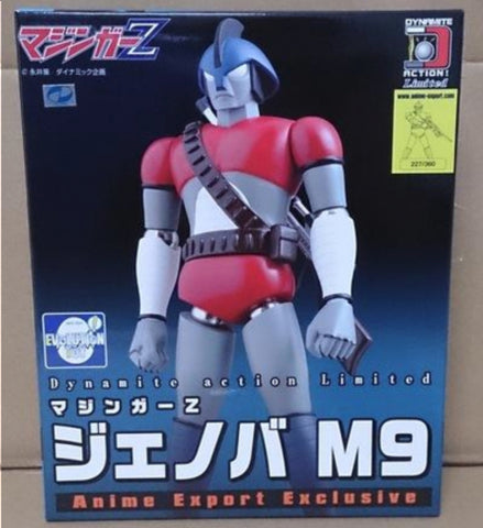 Evolution Toy Dynamite Action No Limited Mazinger Z Jenova M9 Figure