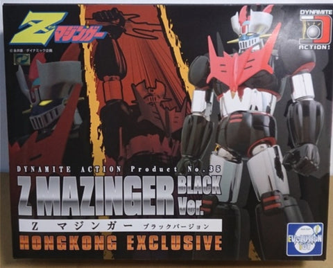 Evolution Toy Dynamite Action No 35HK Z Mazinger Black Ver Figure