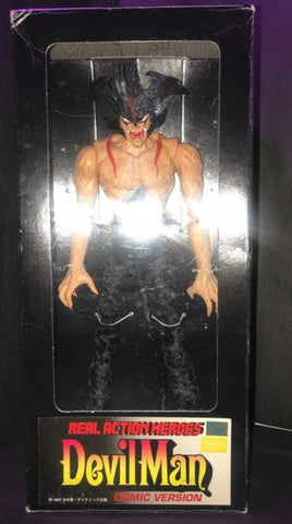 "Medicom Toy 1/6 12"" RAH Real Action Heroes Devilman Comic Ver Figure"