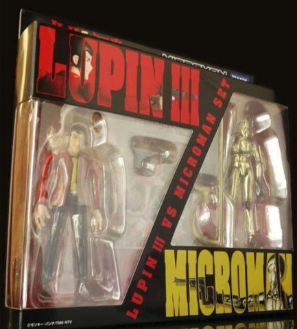 Takara Microman Micro Lupin SP Series ML-SP01 Lupin vs Microman Lupin Action Figure